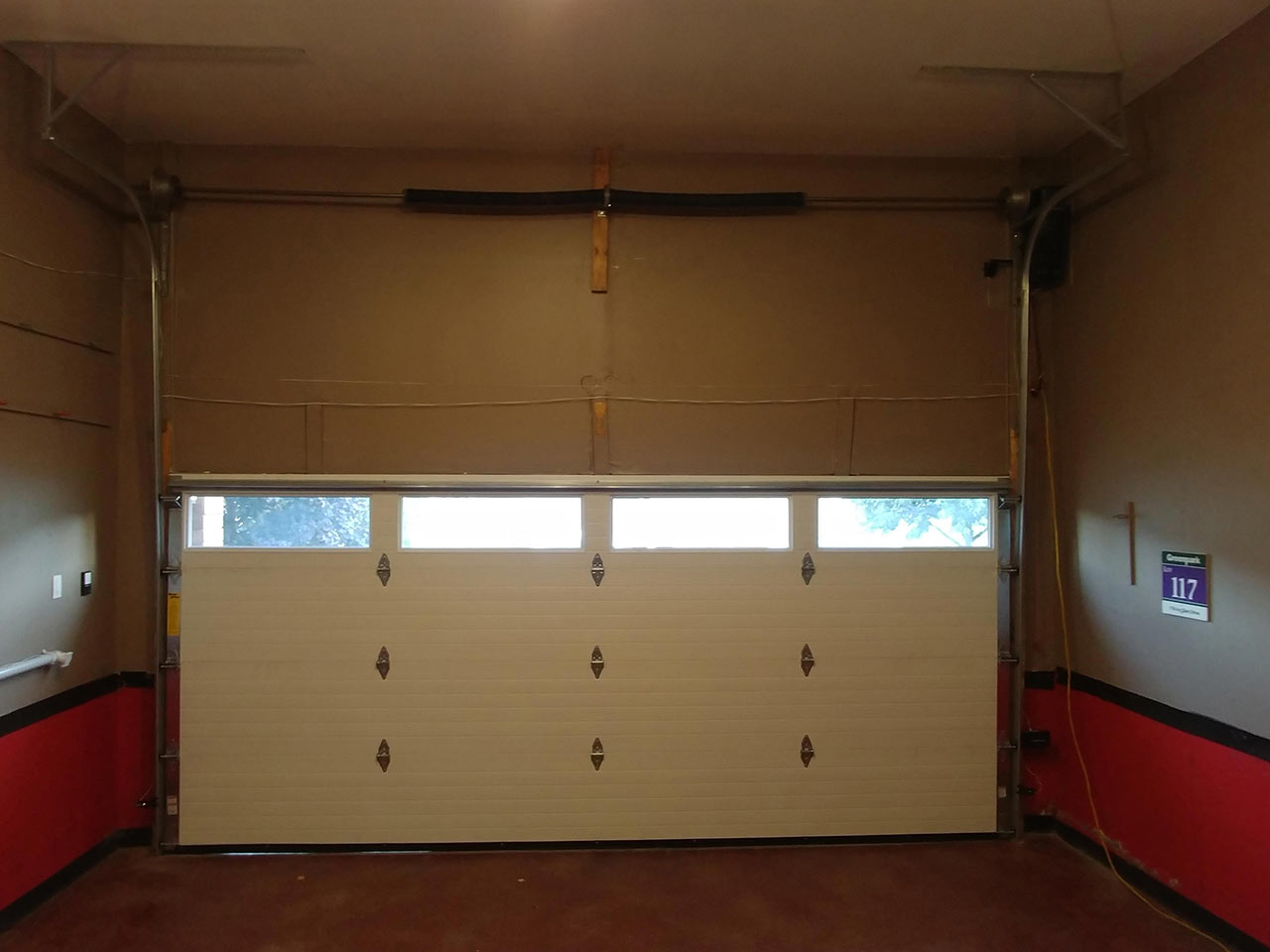 Custom-Lighlift-Tracks-Door-No.1